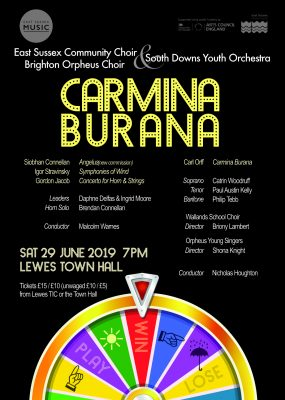Carmina Burana poster